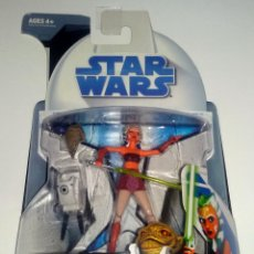 Figuras y Muñecos Star Wars: STAR WARS # AHSOKA TANO # THE CLONE WARS - NUEVO EN SU BLISTER ORIGINAL DE HASBRO.. Lote 54302467