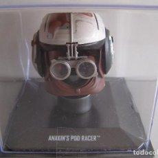 Figuras y Muñecos Star Wars: CASCO STAR WARS ESCALA 1/5, COLECCION ALTAYA, MODELO ANAKIN'S POD RACER. Lote 71600099