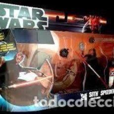 Figuras y Muñecos Star Wars: STAR WARS SITH SPEEDER + DARTH MAUL. Lote 71676387