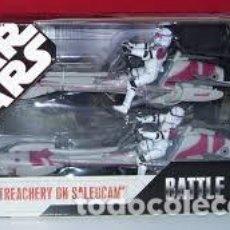 Figuras y Muñecos Star Wars: STAR WARS BATTLE PACKS TREACHERY ON SALEUCAMI. Lote 71676771