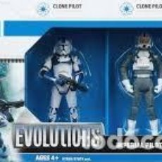 Figure e Bambolotti Star Wars: STAR WARS EVOLUTIONS IMPERIAL PILOT LEGACY. Lote 71677227