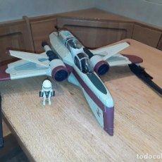 Figuras y Muñecos Star Wars: HASBRO NAVE ARC 170 LUCASFILM 2004. Lote 71729239