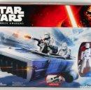 Figuras y Muñecos Star Wars: STAR WARS THE FORCE AWAKENS FIRST ORDER SNOWSPEEDER CON SNOWTROOPER OFICIAL. Lote 72317471