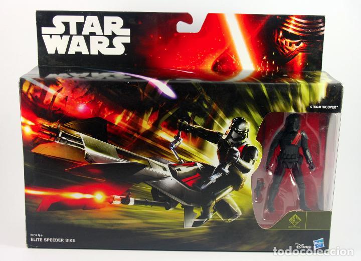 STAR WARS THE FORCE AWAKENS ELITE SPEEDER BIKE CON FIGURA STORMTROOPER (Juguetes - Figuras de Acción - Star Wars)