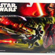 Figuras y Muñecos Star Wars: STAR WARS THE FORCE AWAKENS ELITE SPEEDER BIKE CON FIGURA STORMTROOPER. Lote 72317927