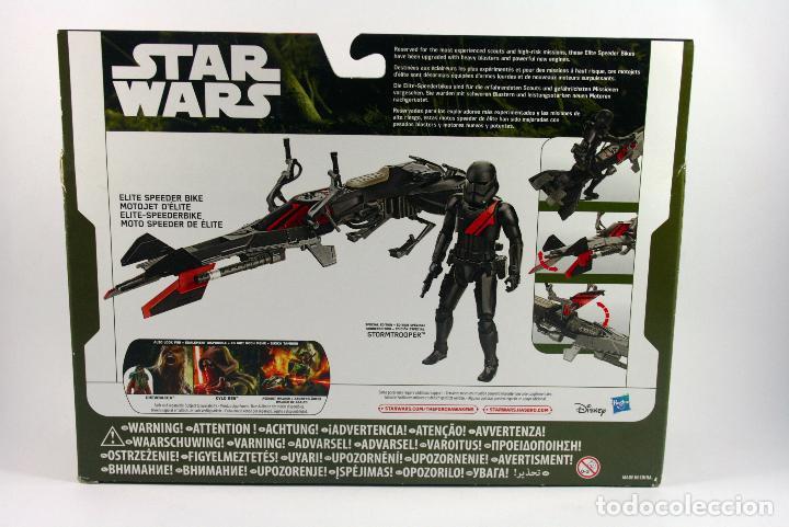 Figuras y Muñecos Star Wars: STAR WARS THE FORCE AWAKENS ELITE SPEEDER BIKE CON FIGURA STORMTROOPER - Foto 6 - 72317927