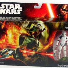 Figuras y Muñecos Star Wars: STAR WARS THE FORCE AWAKENS ASSAULT WALKER CON FIGURA STORMTROOPER. Lote 72318067