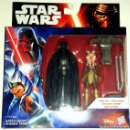 Figuras y Muñecos Star Wars: STAR WARS # DARTH VADER & AHSOKA TANO # THE FORCE AWAKENS - NUEVO EN SU CAJA ORIGINAL DE HASBRO.. Lote 66870702