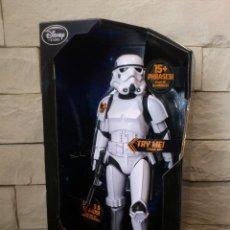 Figuras y Muñecos Star Wars: STAR WARS - STORMTROOPER - SOLDADO CLON - 34 CM - LUCES SONIDOS - 2014 - ORIGINAL DISNEY STORE NUEVO. Lote 104560642