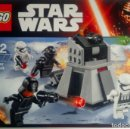 Figuras y Muñecos Star Wars: LEGO STAR WARS 75132 FIRST ORDER BATTLE PACK NEW FACTORY 4 FIGURES INCLUDED. Lote 74158371