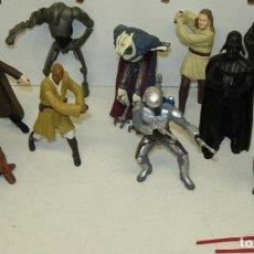 Figuras y Muñecos Star Wars: LOTE 11 FIGURAS PVC , LLAVEROS STAR WARS. Lote 74278295