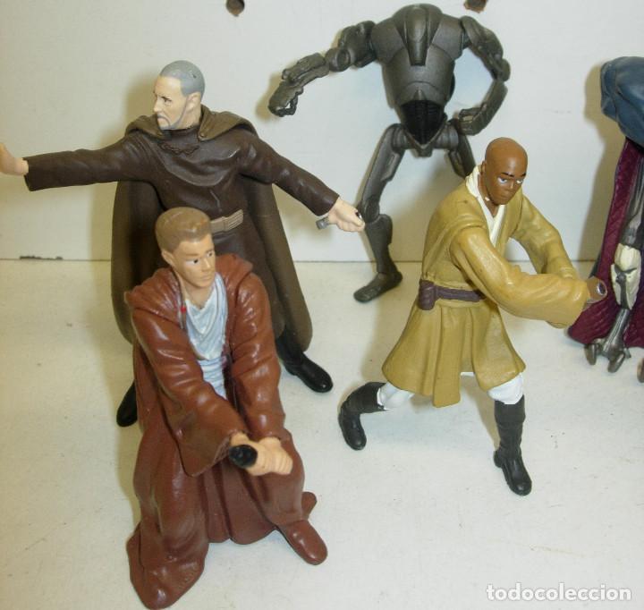 Figuras y Muñecos Star Wars: Lote 11 figuras PVC , llaveros STAR WARS - Foto 2 - 74278295