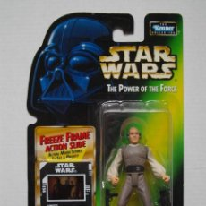 Figuras y Muñecos Star Wars: FIGURA OFICIAL STAR WARS LOBOT AÑO 1997 POTF POWER OF THE FORCE DE KENNER EN BLISTER - NUEVO. Lote 74609051
