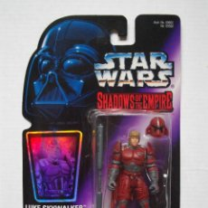 Figuras y Muñecos Star Wars: FIGURA OFICIAL STAR WARS LUKE IMPERIAL GUARD DISGUISE AÑO 1996 SHADOWS OF THE EMPIRE KENNER NUEVO. Lote 74610423