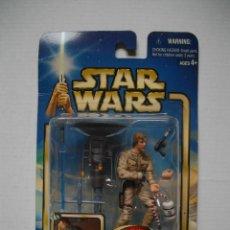 Figuras y Muñecos Star Wars: FIGURA OFICIAL STAR WARS LUKE SKYWALKER BESPIN DUEL AÑO 2002 EMPIRE STRIKES BACK KENNER NUEVO. Lote 74610655