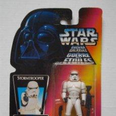 Figuras y Muñecos Star Wars: FIGURA OFICIAL STAR WARS STORMTROOPER AÑO 1995 KENNER NUEVO. Lote 74610943