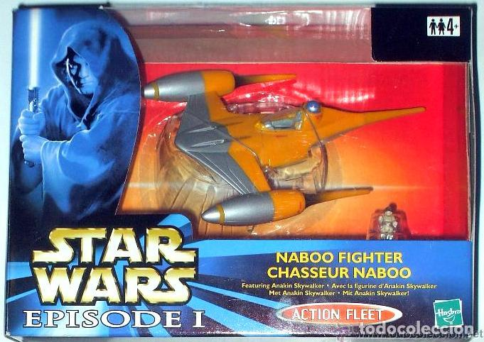 STAR WARS # NABOO FIGHTER # MICROMACHINES - ACTION FLEET - NUEVO EN SU CAJA ORIGINAL. (Juguetes - Figuras de Acción - Star Wars)