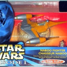Figuras y Muñecos Star Wars: STAR WARS # NABOO FIGHTER # MICROMACHINES - ACTION FLEET - NUEVO EN SU CAJA ORIGINAL.. Lote 49594005