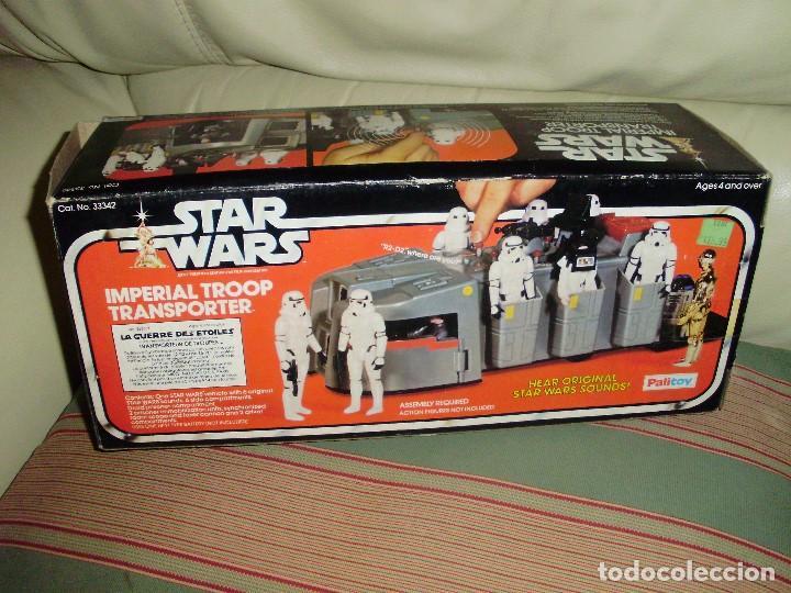 STAR WARS VINTAGE IMPERIAL TROOP TRANSPORTER 1977 (Juguetes - Figuras de Acción - Star Wars)