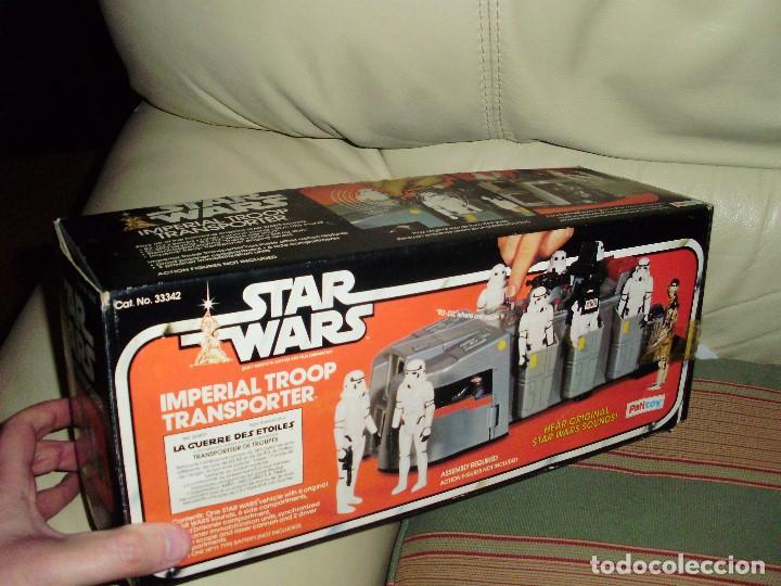 Figuras y Muñecos Star Wars: STAR WARS VINTAGE IMPERIAL TROOP TRANSPORTER 1977 - Foto 2 - 75728399
