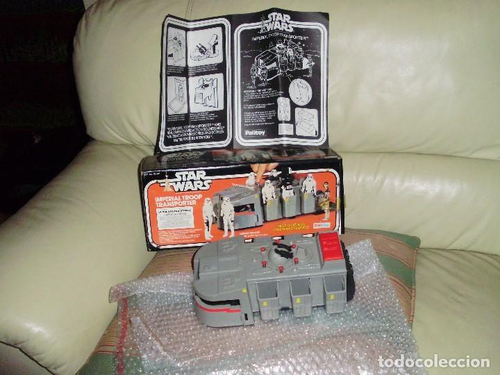 Figuras y Muñecos Star Wars: STAR WARS VINTAGE IMPERIAL TROOP TRANSPORTER 1977 - Foto 3 - 75728399