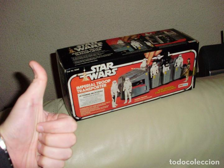 Figuras y Muñecos Star Wars: STAR WARS VINTAGE IMPERIAL TROOP TRANSPORTER 1977 - Foto 7 - 75728399