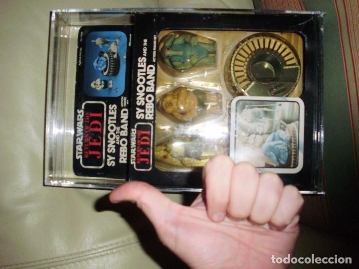 Figuras y Muñecos Star Wars: STAR WARS REBO BAND SY SNOOTLES RETORNO DEL JEDI KENNER VINTAGE - Foto 7 - 76028179
