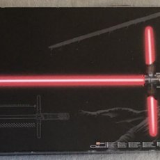 Figuras y Muñecos Star Wars: STAR WARS KYLO REN LIGHTSABER NUEVO. Lote 76256257