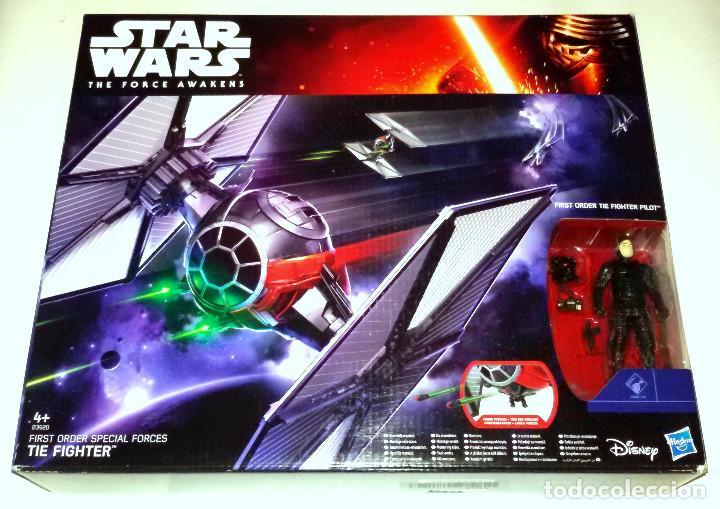 STAR WARS # TIE FIGHTER # THE FORCE AWAKENS - NUEVO EN SU CAJA ORIGINAL DE HASBRO. (Juguetes - Figuras de Acción - Star Wars)