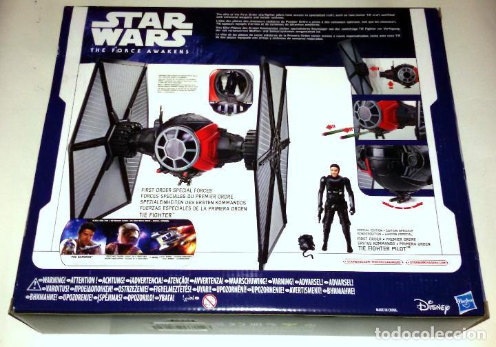 Figuras y Muñecos Star Wars: STAR WARS # TIE FIGHTER # THE FORCE AWAKENS - NUEVO EN SU CAJA ORIGINAL DE HASBRO. - Foto 2 - 113293210