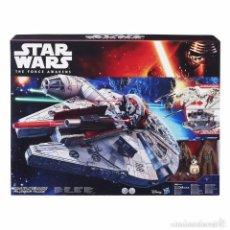 Figuras y Muñecos Star Wars: HALCON MILENARIO HASBRO VERSION EL DESPERTAR DE LA FUERZA. Lote 78305757