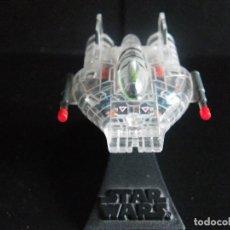Figuras y Muñecos Star Wars: STAR WARS. MICROMACHINES. NAVE DE LA COLECCIÓN I DE LA FLOTA DE COMBATE RAYOS X. CON SOPORTE.. Lote 81863182