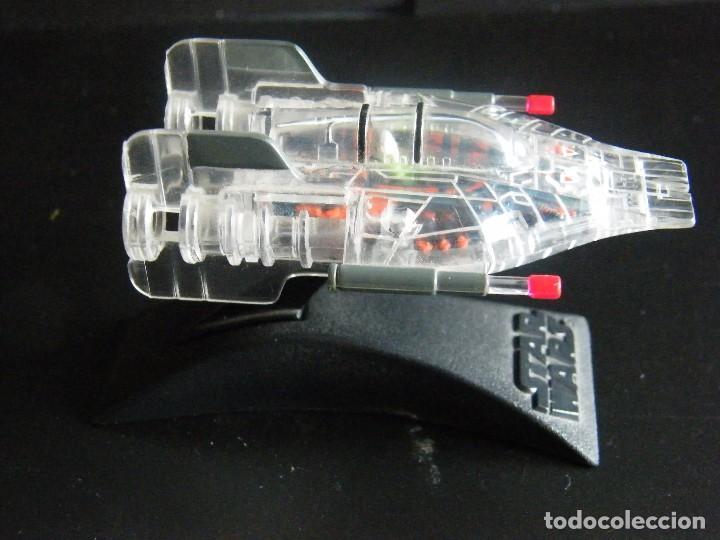 Figuras y Muñecos Star Wars: Star Wars. Micromachines. Nave de la colección I de la flota de combate Rayos X. Con soporte. - Foto 2 - 81863182