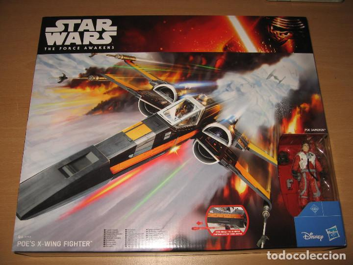 STAR WARS THE FORCE AWAKENS X-WING FIGHTER POE DAMERON CAJA PRECINTADA (Juguetes - Figuras de Acción - Star Wars)