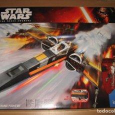 Figuras y Muñecos Star Wars: STAR WARS THE FORCE AWAKENS X-WING FIGHTER POE DAMERON CAJA PRECINTADA. Lote 81236712
