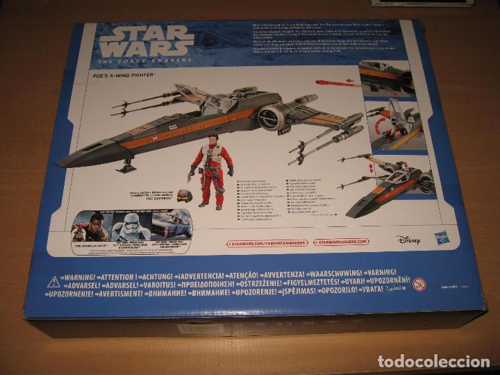 Figuras y Muñecos Star Wars: STAR WARS THE FORCE AWAKENS X-WING FIGHTER POE DAMERON CAJA PRECINTADA - Foto 4 - 81236712