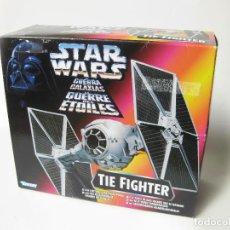 Figuras y Muñecos Star Wars: NAVE STAR WARS TIE FIGHTER KENNER DE 1995 POWER OF THE FORCE - A ESTRENAR. LA GUERRA DE LAS GALAXIAS. Lote 81273128