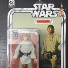 Figuras y Muñecos Star Wars: FIGURA LUKE SKYWALKER 40 ANIVERSARIO KENNER / HASBRO - WAVE 1 BLACK SERIES - STAR WARS. Lote 82707466