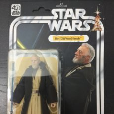 Figuras y Muñecos Star Wars: FIGURA BEN (OBI-WAN) KENOBI 40 ANIVERSARIO KENNER / HASBRO - WAVE 1 BLACK SERIES - STAR WARS. Lote 82707700