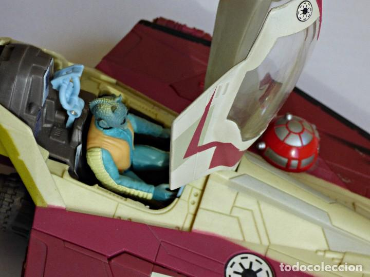 Figuras y Muñecos Star Wars: Star Wars, Nave de obi-wan kenobi's jedi starfighter, saga 2002 - Foto 5 - 82790236