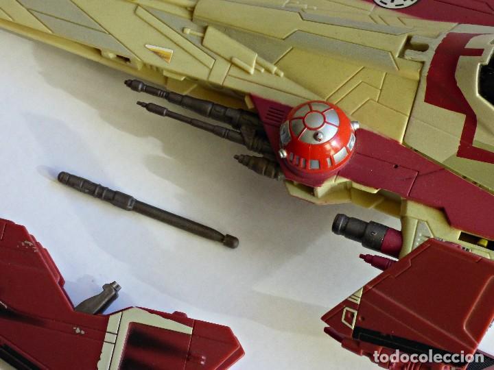 Figuras y Muñecos Star Wars: Star Wars, Nave de obi-wan kenobi's jedi starfighter, saga 2002 - Foto 9 - 82790236