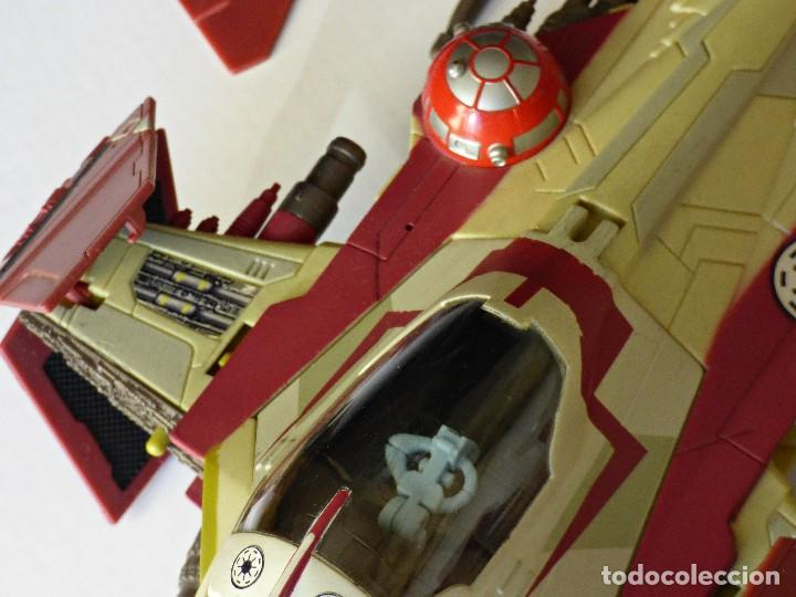 Figuras y Muñecos Star Wars: Star Wars, Nave de obi-wan kenobi's jedi starfighter, saga 2002 - Foto 10 - 82790236