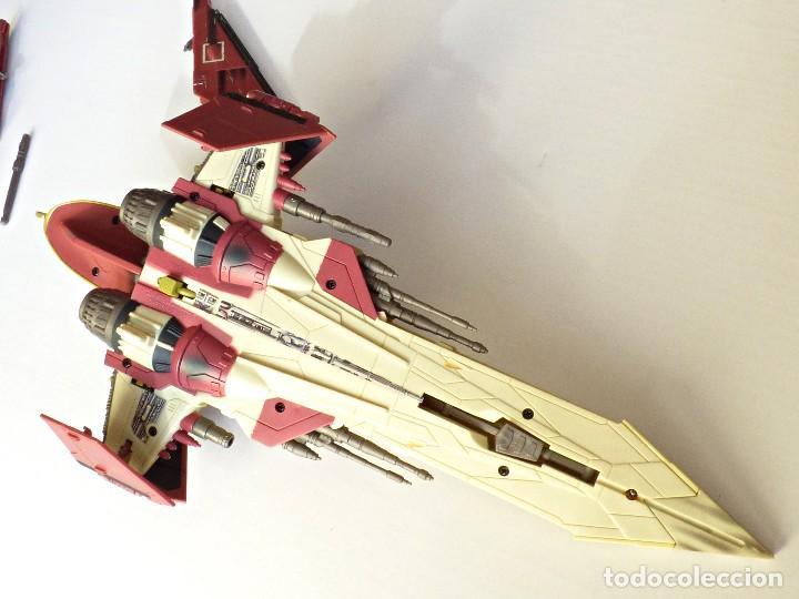 Figuras y Muñecos Star Wars: Star Wars, Nave de obi-wan kenobi's jedi starfighter, saga 2002 - Foto 14 - 82790236