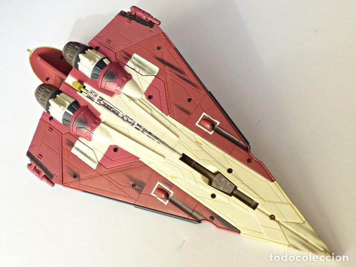 Figuras y Muñecos Star Wars: Star Wars, Nave de obi-wan kenobi's jedi starfighter, saga 2002 - Foto 16 - 82790236