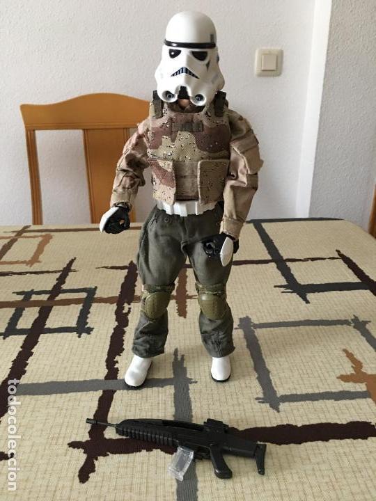 Figuras y Muñecos Star Wars: STAR WARS. Stormtrooper para terreno árido. Unidad de infiltración. Escala 1/6. - Foto 3 - 75753747