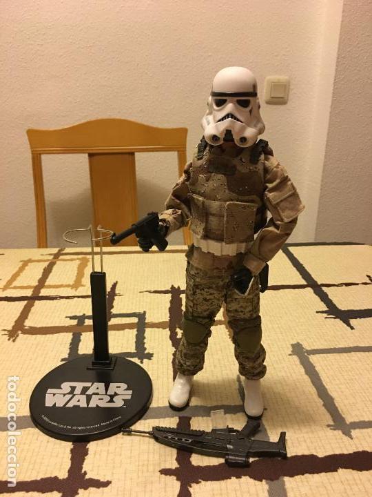 Figuras y Muñecos Star Wars: STAR WARS. Stormtrooper para terreno árido. Unidad de infiltración. Escala 1/6. - Foto 8 - 75753747