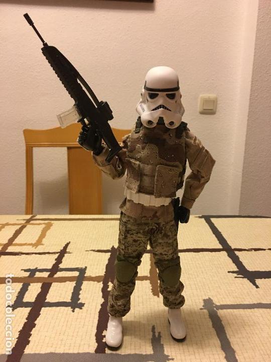Figuras y Muñecos Star Wars: STAR WARS. Stormtrooper para terreno árido. Unidad de infiltración. Escala 1/6. - Foto 9 - 75753747