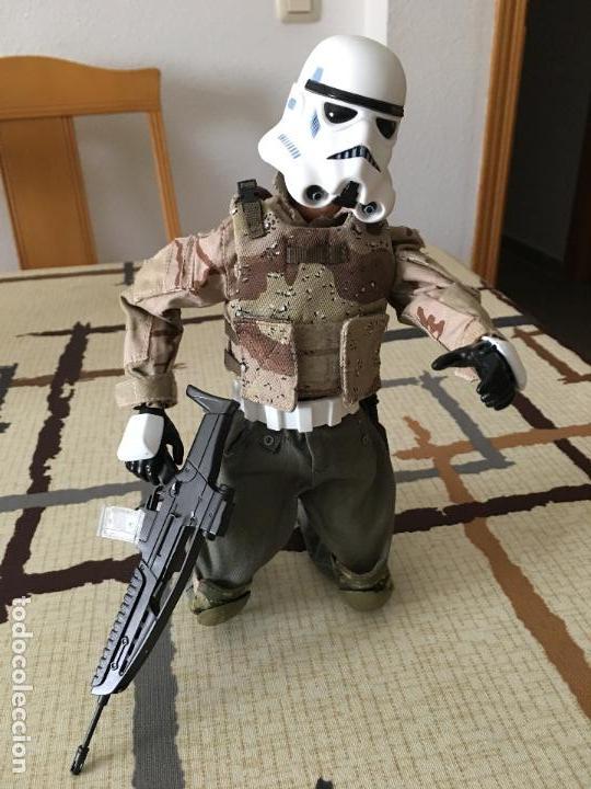 Figuras y Muñecos Star Wars: STAR WARS. Stormtrooper para terreno árido. Unidad de infiltración. Escala 1/6. - Foto 10 - 75753747