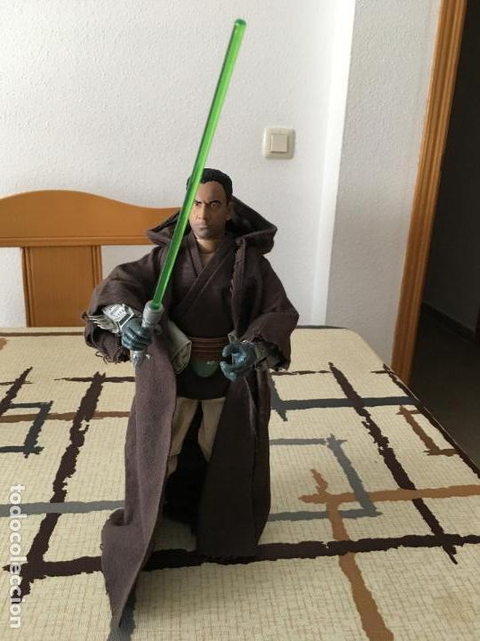 Figuras y Muñecos Star Wars: STAR WARS. Jango Fett como iniciado en la Fuerza. Figura articulada de 1/6. Customizada. - Foto 2 - 83760680
