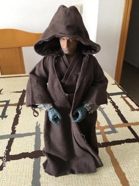 Figuras y Muñecos Star Wars: STAR WARS. Jango Fett como iniciado en la Fuerza. Figura articulada de 1/6. Customizada. - Foto 3 - 83760680